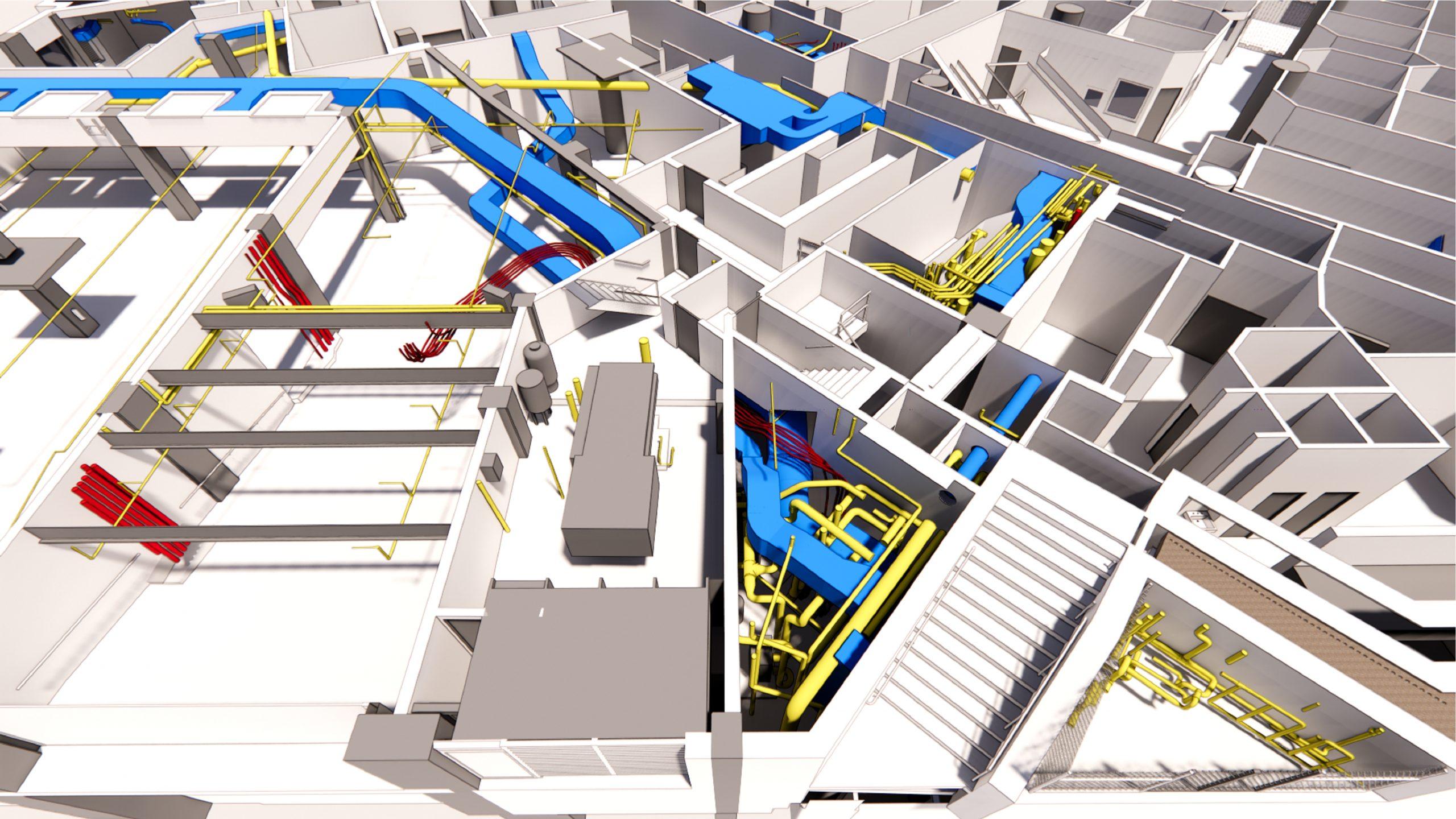 3D rendering utilities 700 University Avenue Toronto