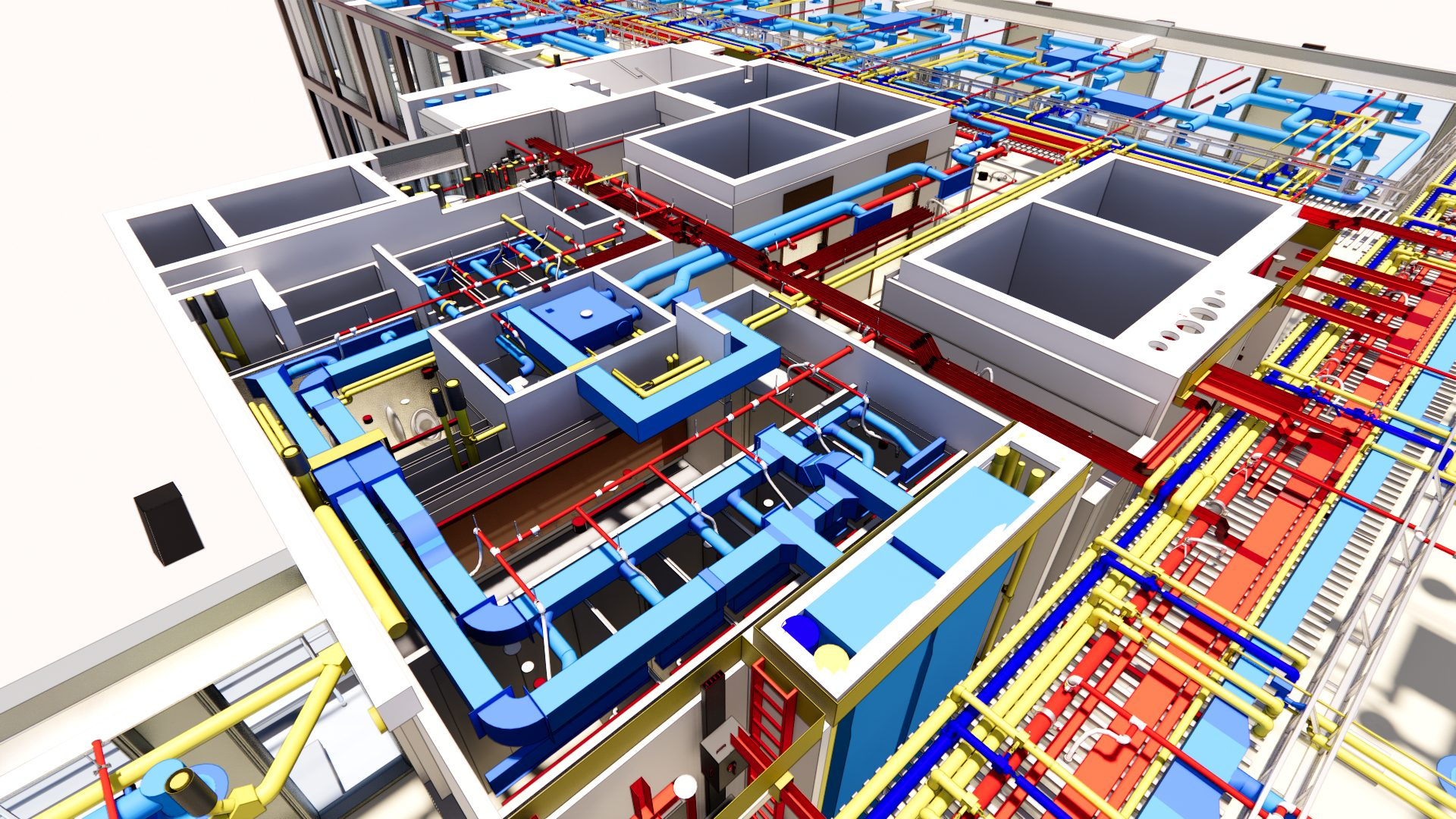 Utilities in a building