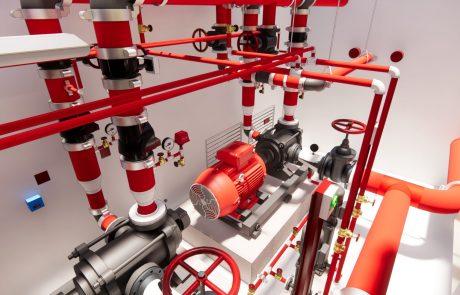 Rendering of utilities pipes
