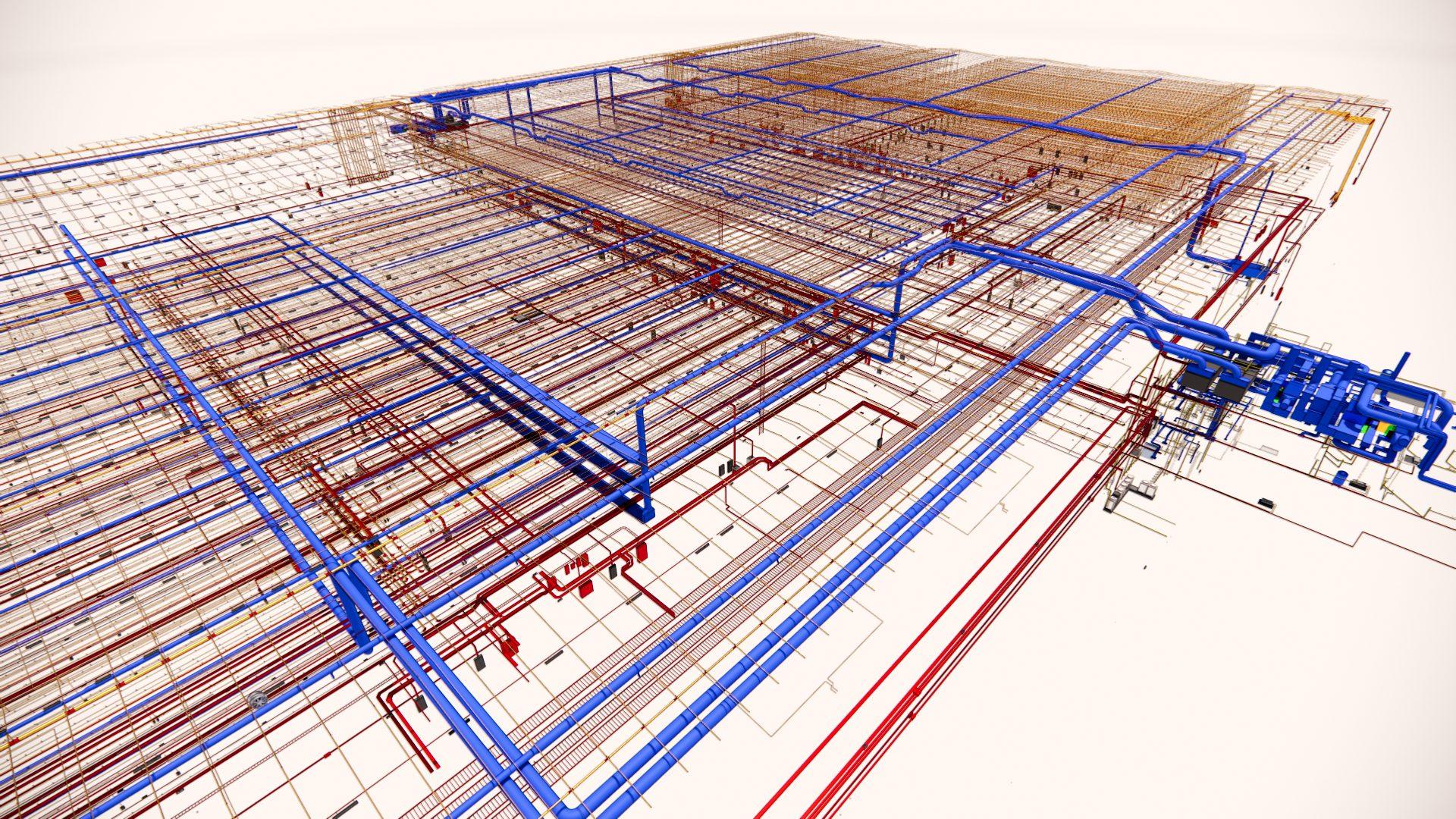 H&M Distribution Warehouse rendering