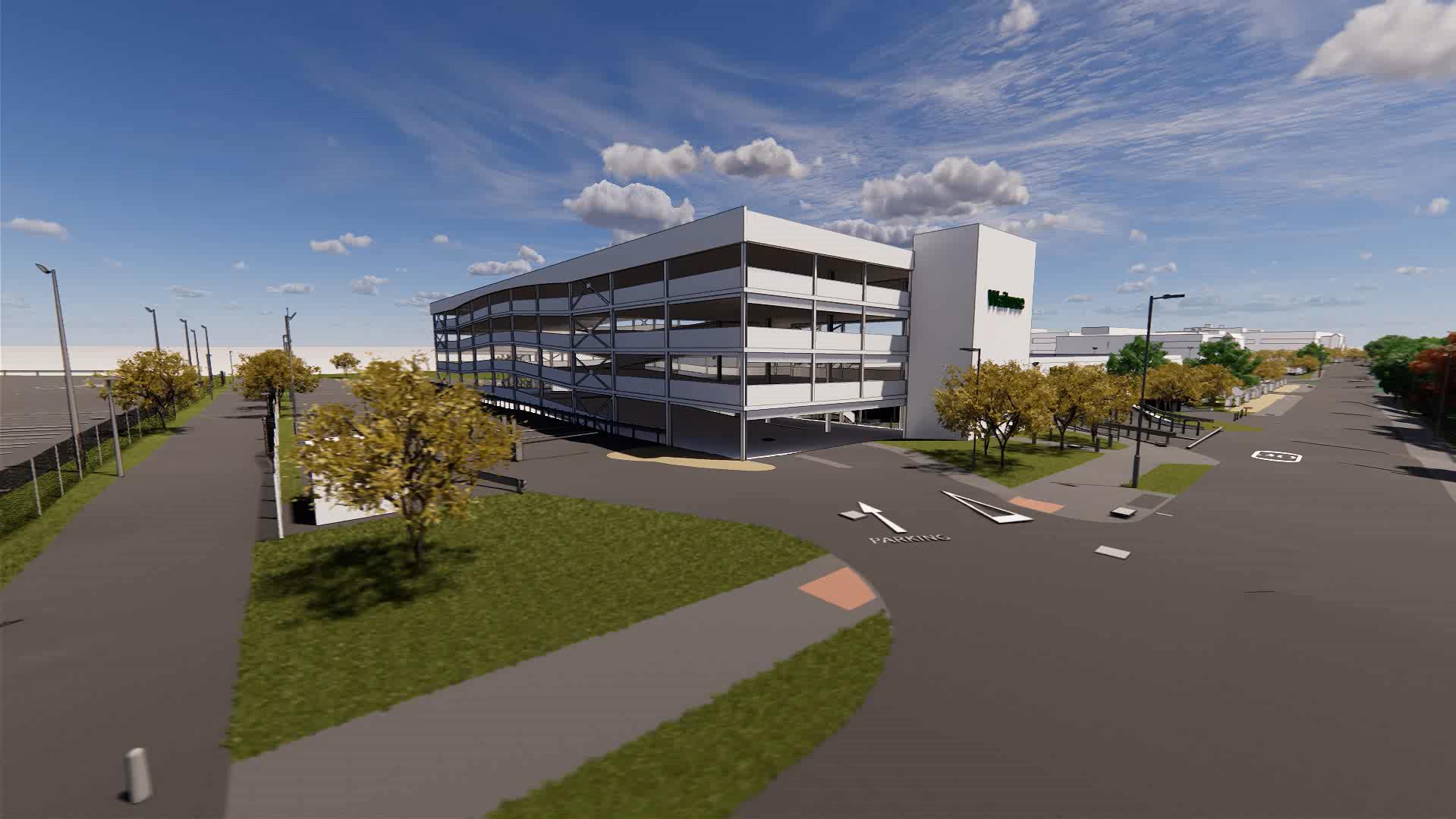 Waitrose Campus Bracknell multi-floor car park