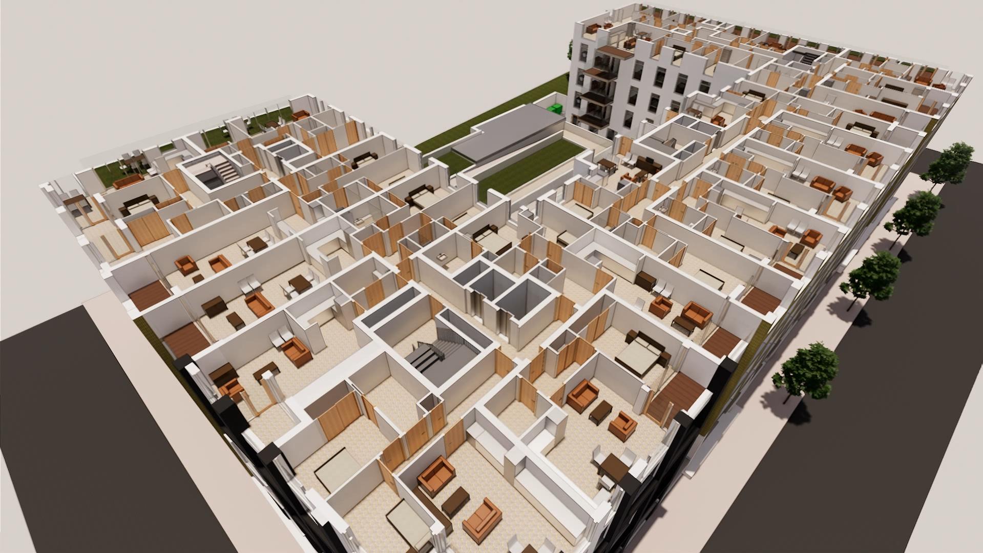 Model of King's Cross Quarter