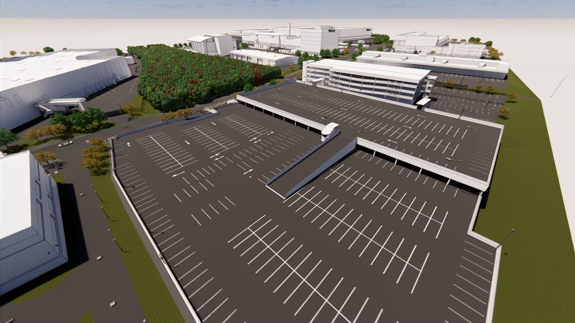 Waitrose Campus Bracknell parking lot