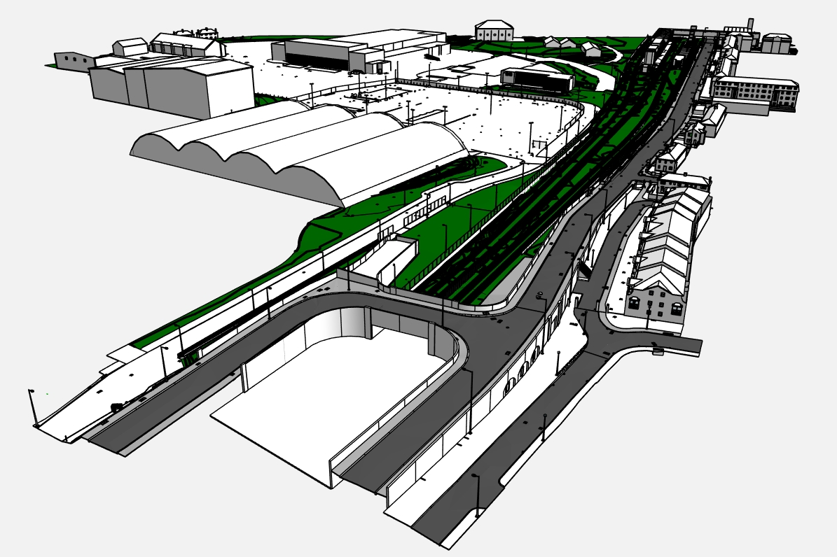 Stephenson Street Masterplan, West Ham