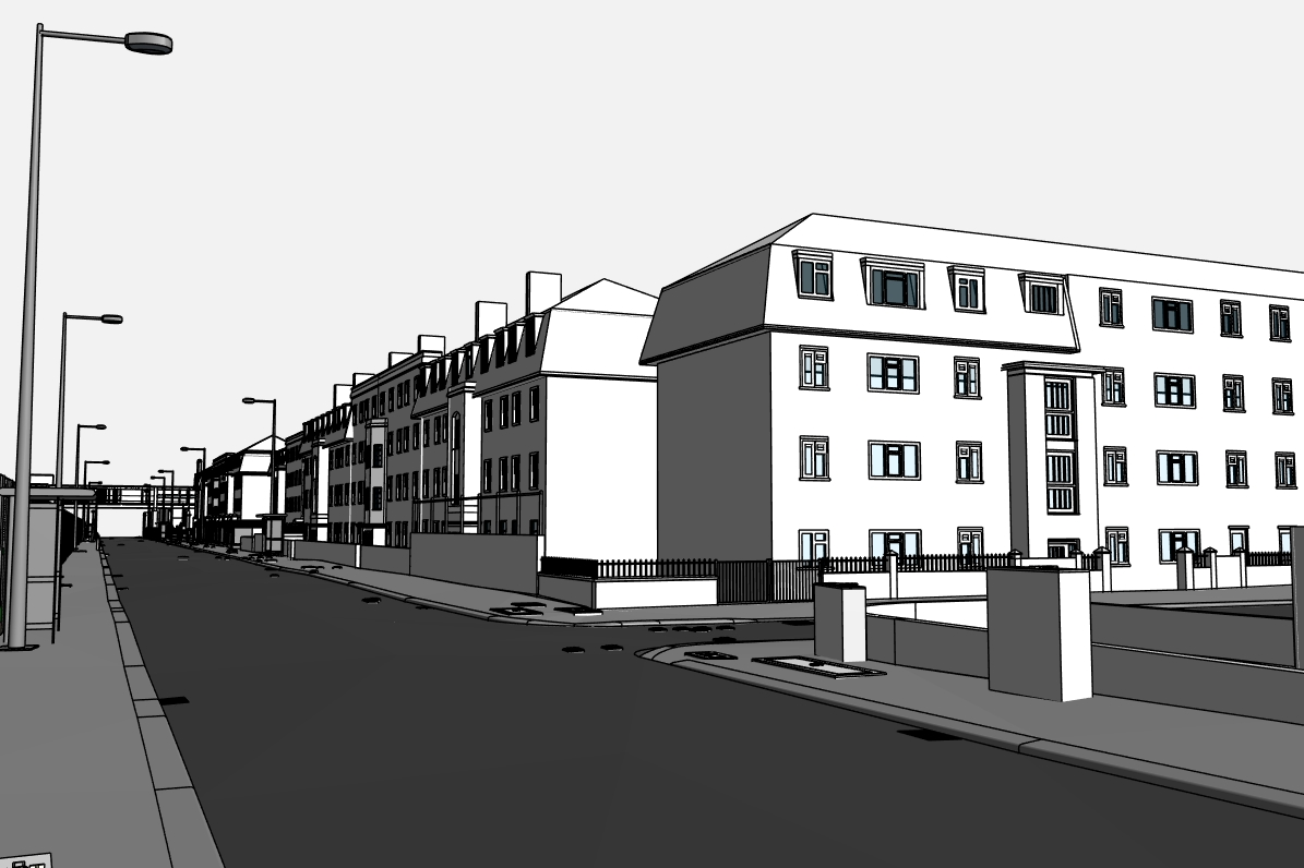 Stephenson Street Masterplan street view