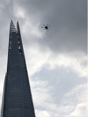 One of our recent drone surveys